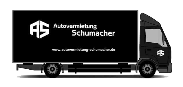 unsere fuhrpark mit lkw 7 5 t autovermietung schumacher. Black Bedroom Furniture Sets. Home Design Ideas