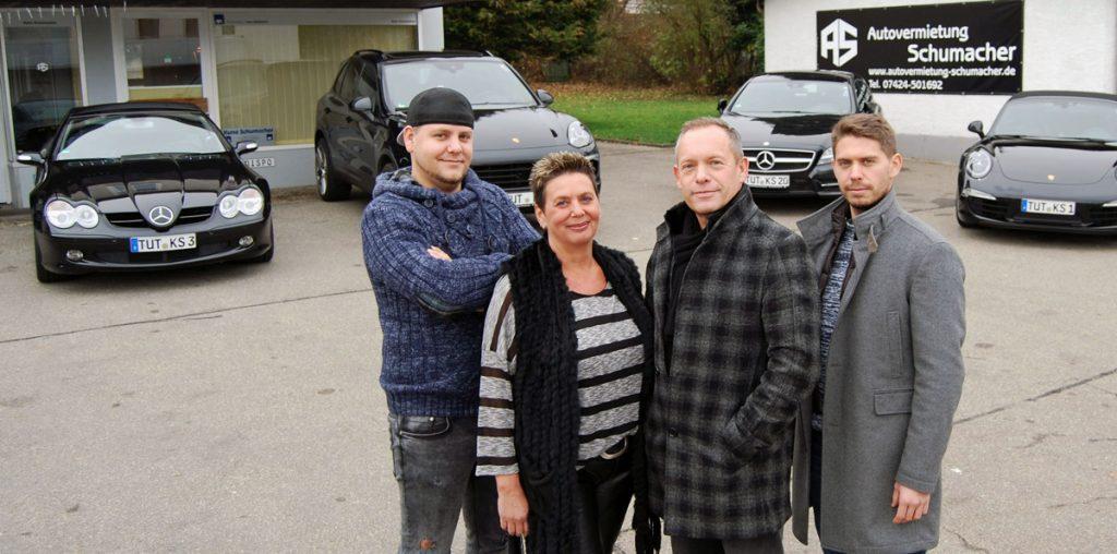 Autovermietung Schumacher - Unser Team in Spaichingen