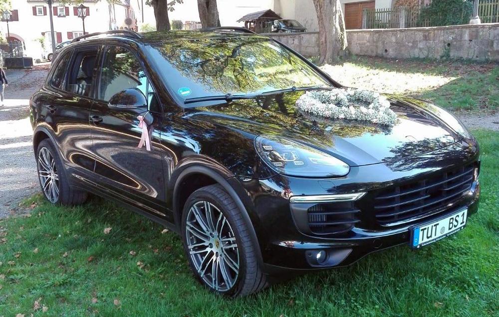 Hochzeitsauto mieten Porsche Cayenne