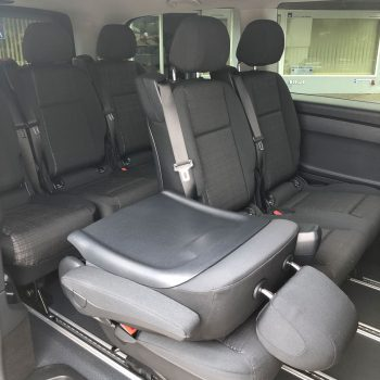 Mercedes Vito 8-Sitzer Innenraum