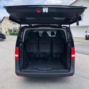 Mercedes Vito 8-Sitzer Kofferraum